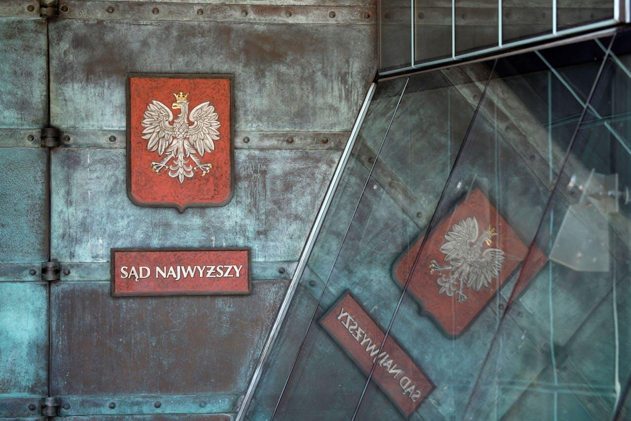 Het kantoor van de Poolse Hoge Raad in Warschau.