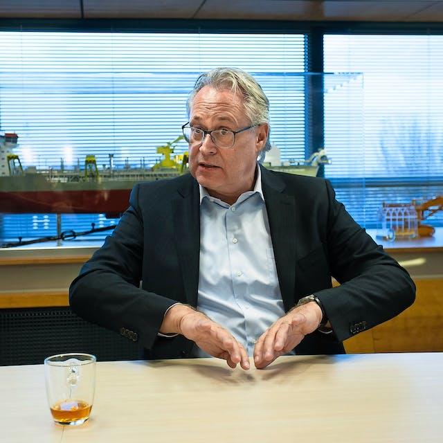 Peter Berdowski: 'Offshore wind wordt een afgrijselijke industrie'