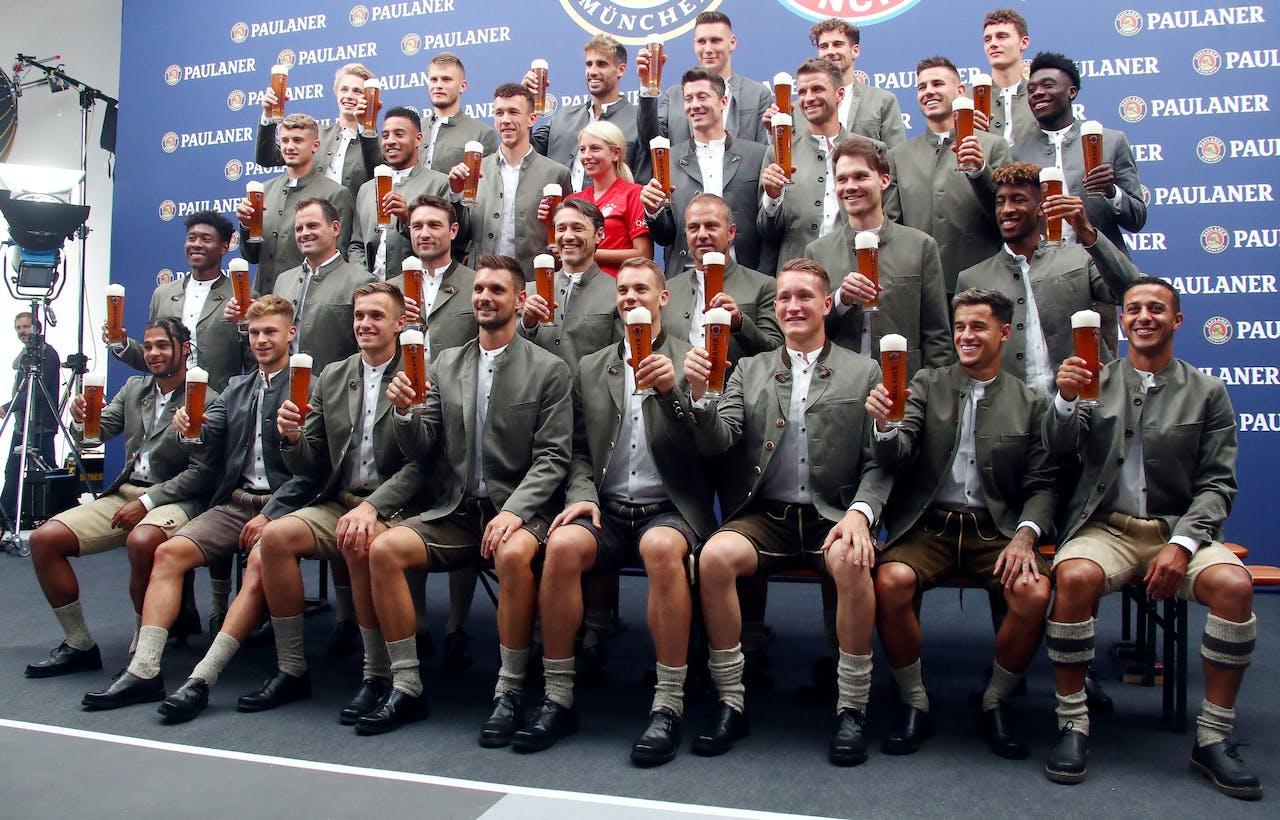 Bayern München behaalt recordomzet van €750 mln