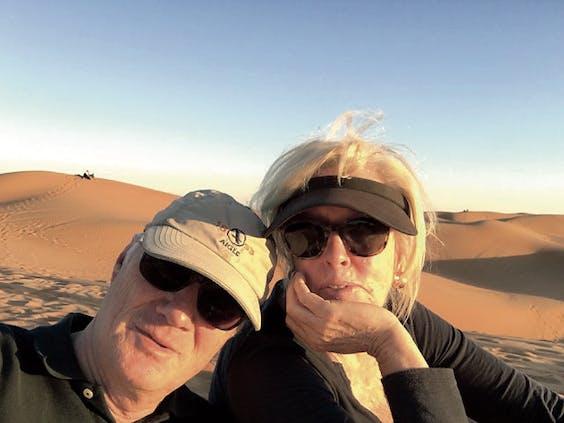 Phil en Frances van Haarlem