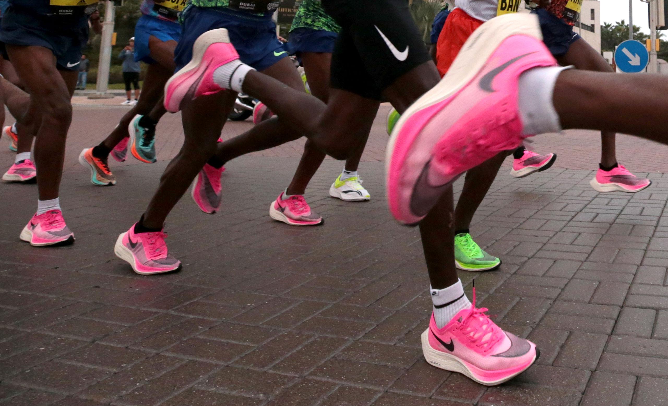 Atletiekbond verbiedt opvolger recordbrekende schoen Nike