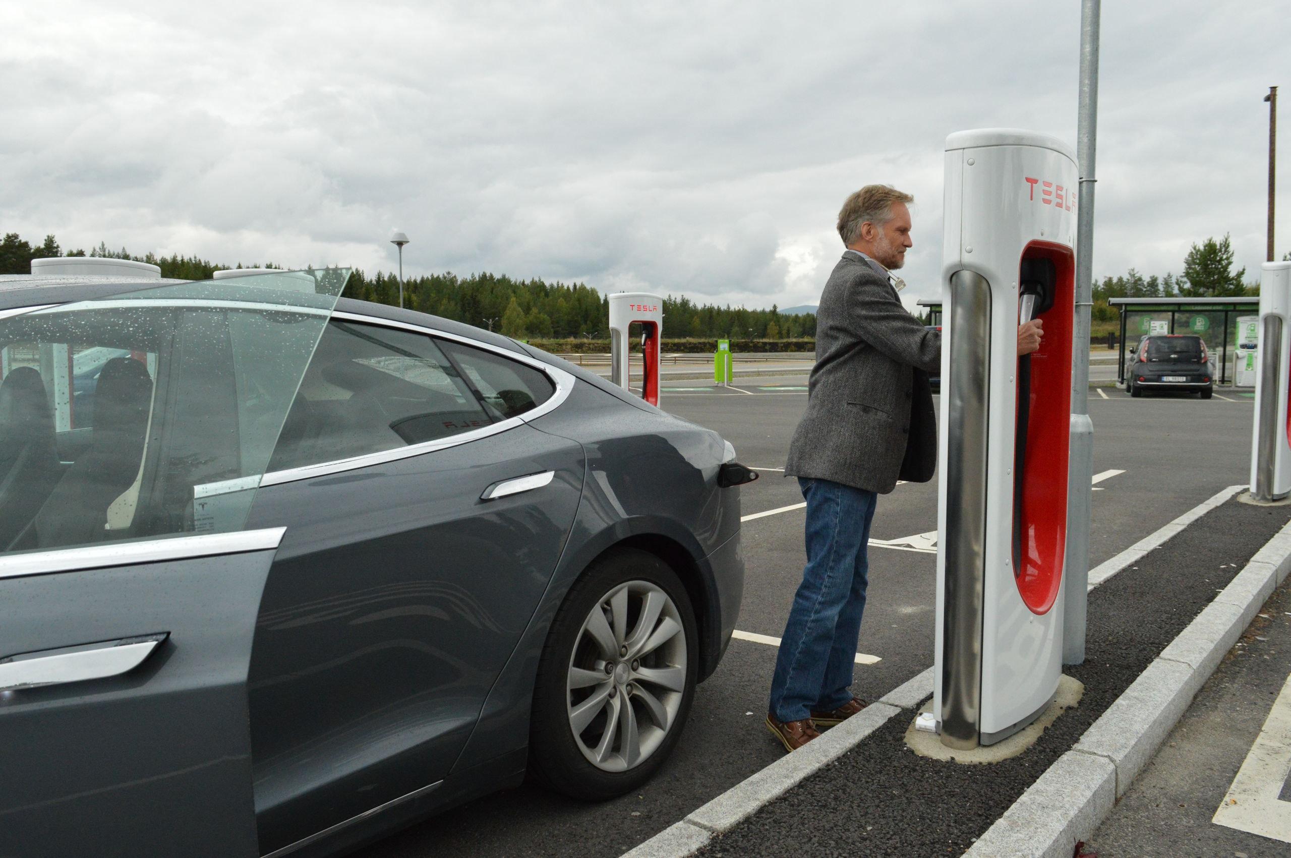 Oliestaat Noorwegen Omarmt De Elektrische Auto