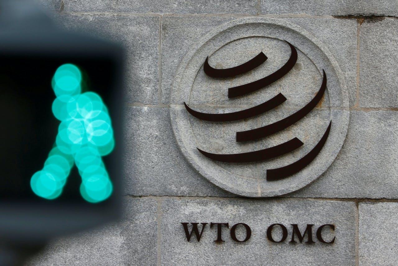 Het hoofdkantoor van de WTO in Genève.