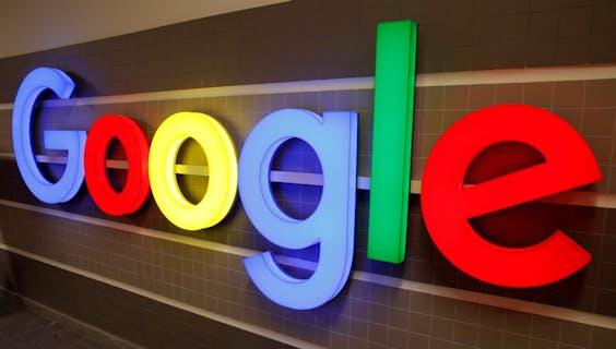 Google logo in Zurich