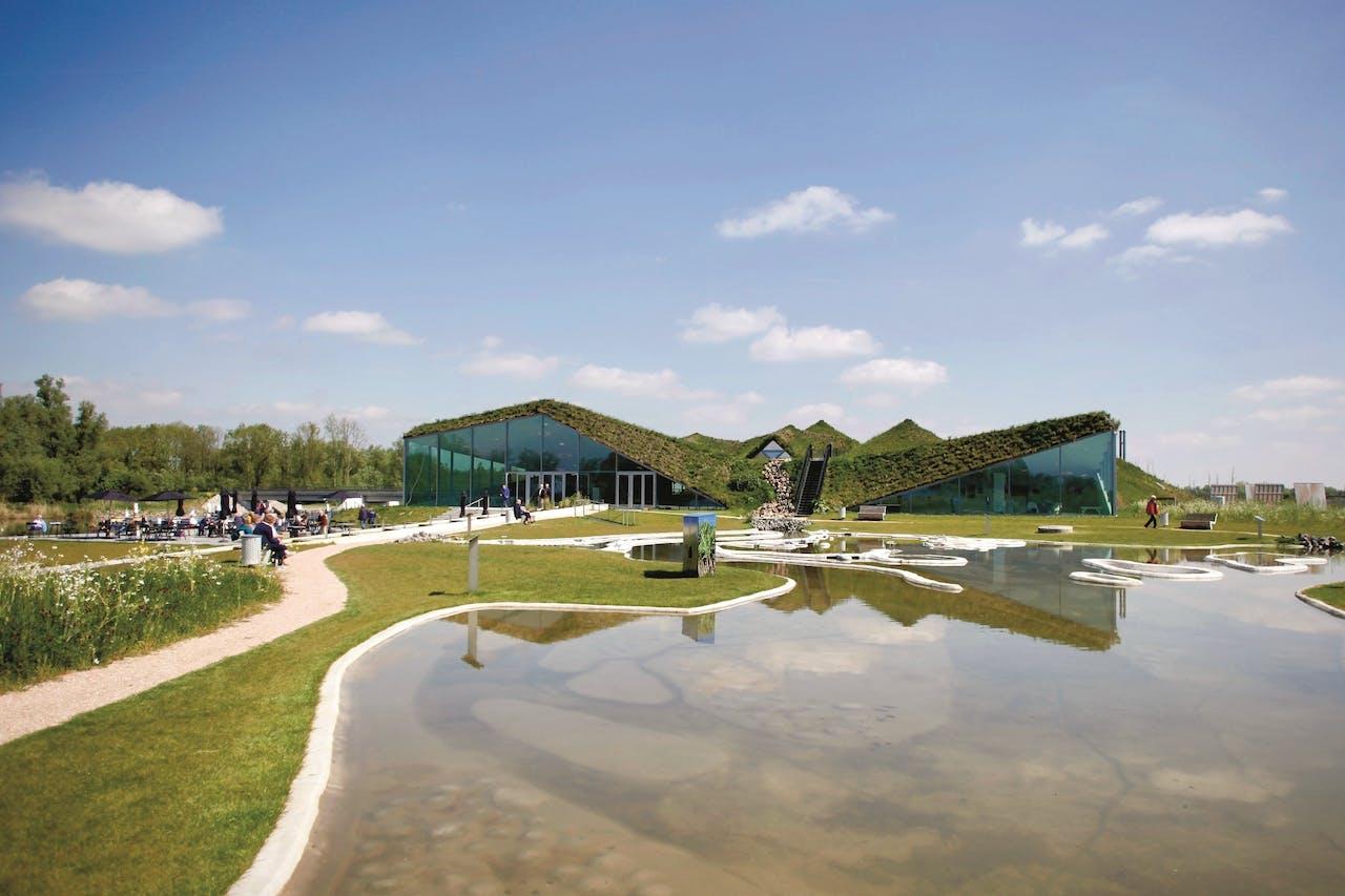 Biesbosch MuseumEiland, dat nu een jaar open is.