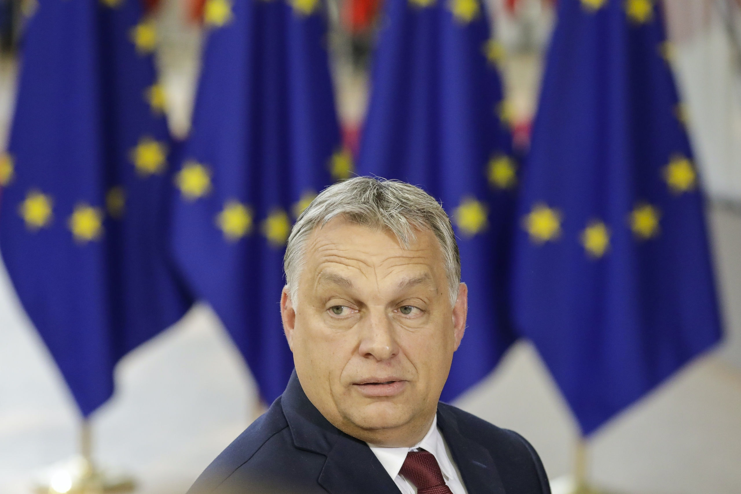 Hungary Prime Minister Viktor Orban pictured during an EU summit meeting, Thursday 28 June 2018, at the European Union headquarters in Brussels. BELGA PHOTO THIERRY ROGE