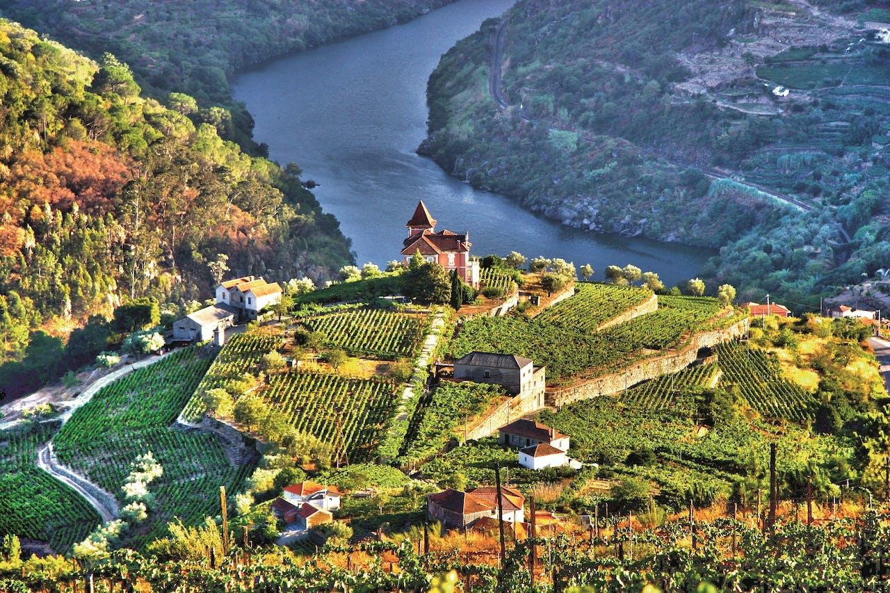 De Dourovallei, in het noorden van Portugal.