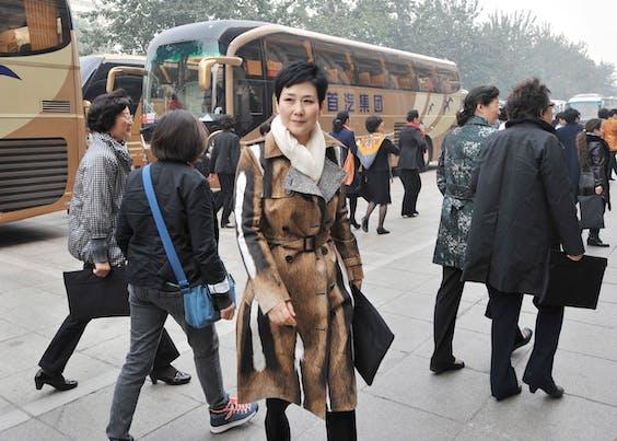 Li Xiaolin is een typisch voorbeeld van een 'princeling'. Ze is vicevoorzitter van energiebedrijf China Datang Corp en de dochter van voormalig premier Li Peng.