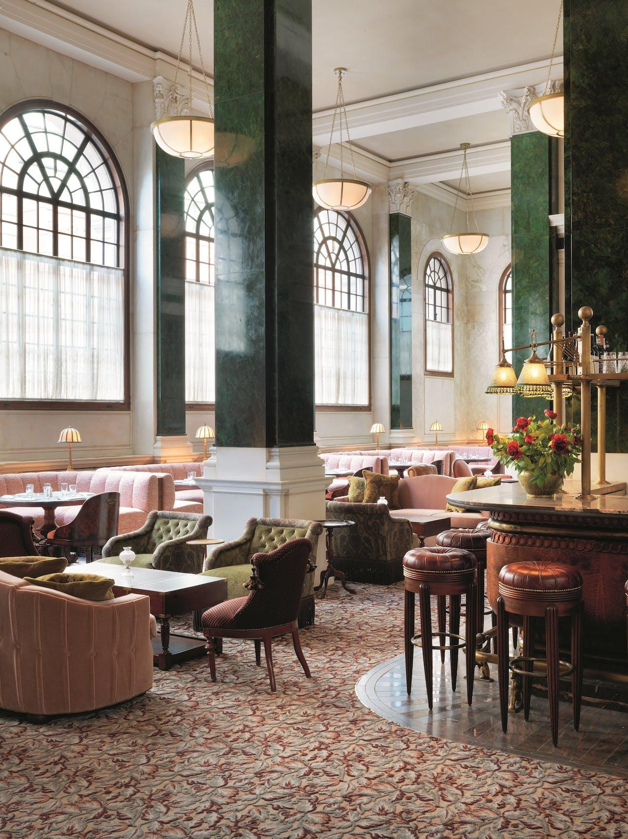 Millie's Lounge , een van de acht restaurants.