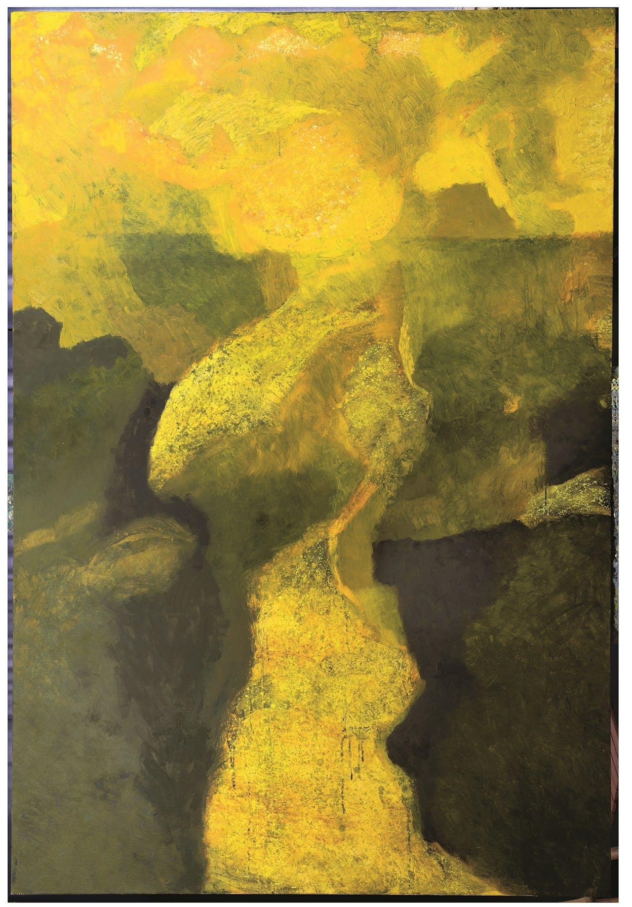 Opkomende zon, Jeroen Krabbé, 2015.