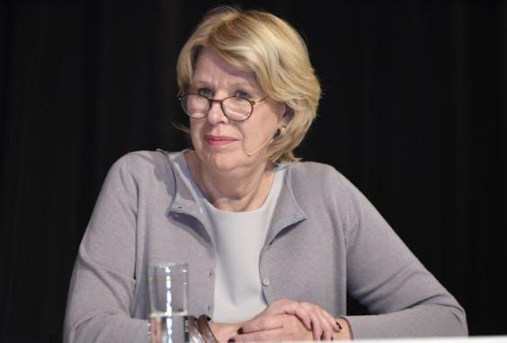 Corien Wortmann-Kool, bestuursvoorzitter van pensioenfonds ABP.