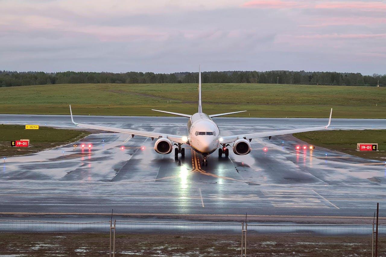 Vlucht FR4978 landt in Vilnius. Zonder Protasevich.