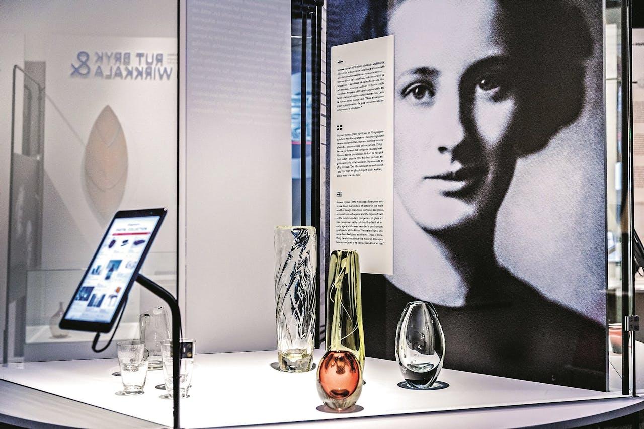 In het museum is nu de tentoonstelling 'Utopia Now' te zien, over de belangrijke rol van design in de Finse geschiedenis.