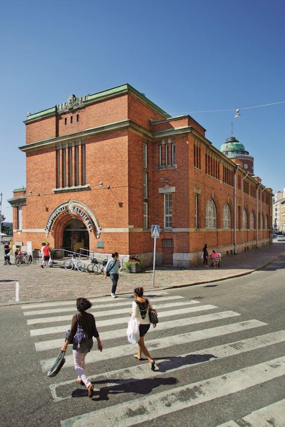 De Hakaniemi-markthal.