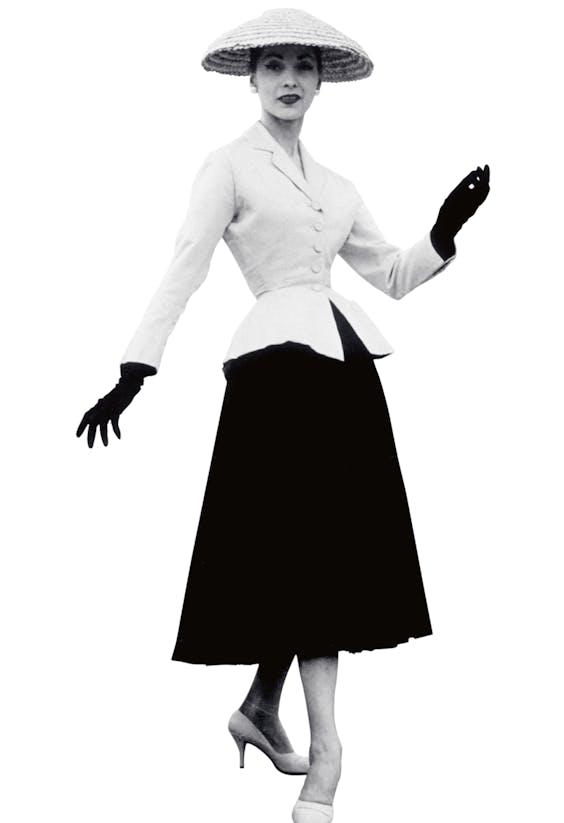 Dior, New Look, 1947.