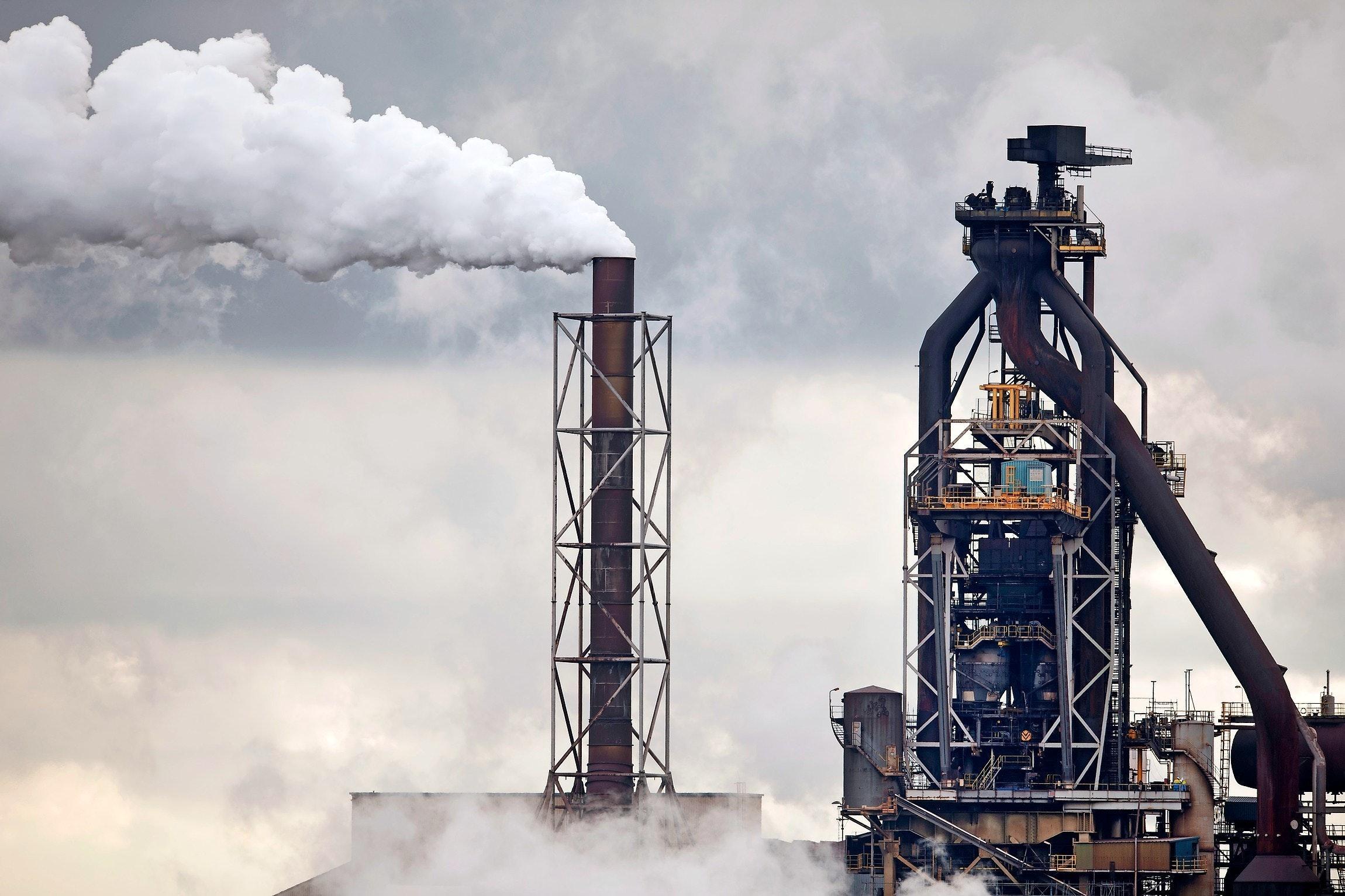 IJmuiden, 02-11-2017. Tata Steel. Hoogoven 6. Foto Olaf Kraak