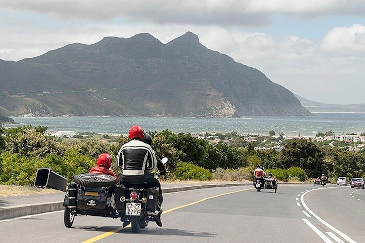 Kaapstad per motor.