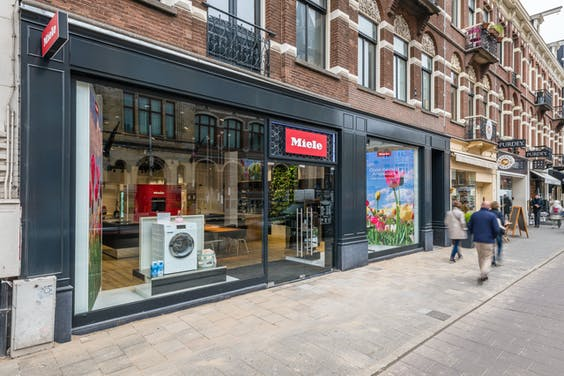 Miele-winkel in Amsterdam