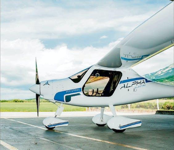 De Pipistrel: het bedrijf uit Sloveni� is een van de pioniers en bouwt een reeks aan elektrische sporttoestellen.