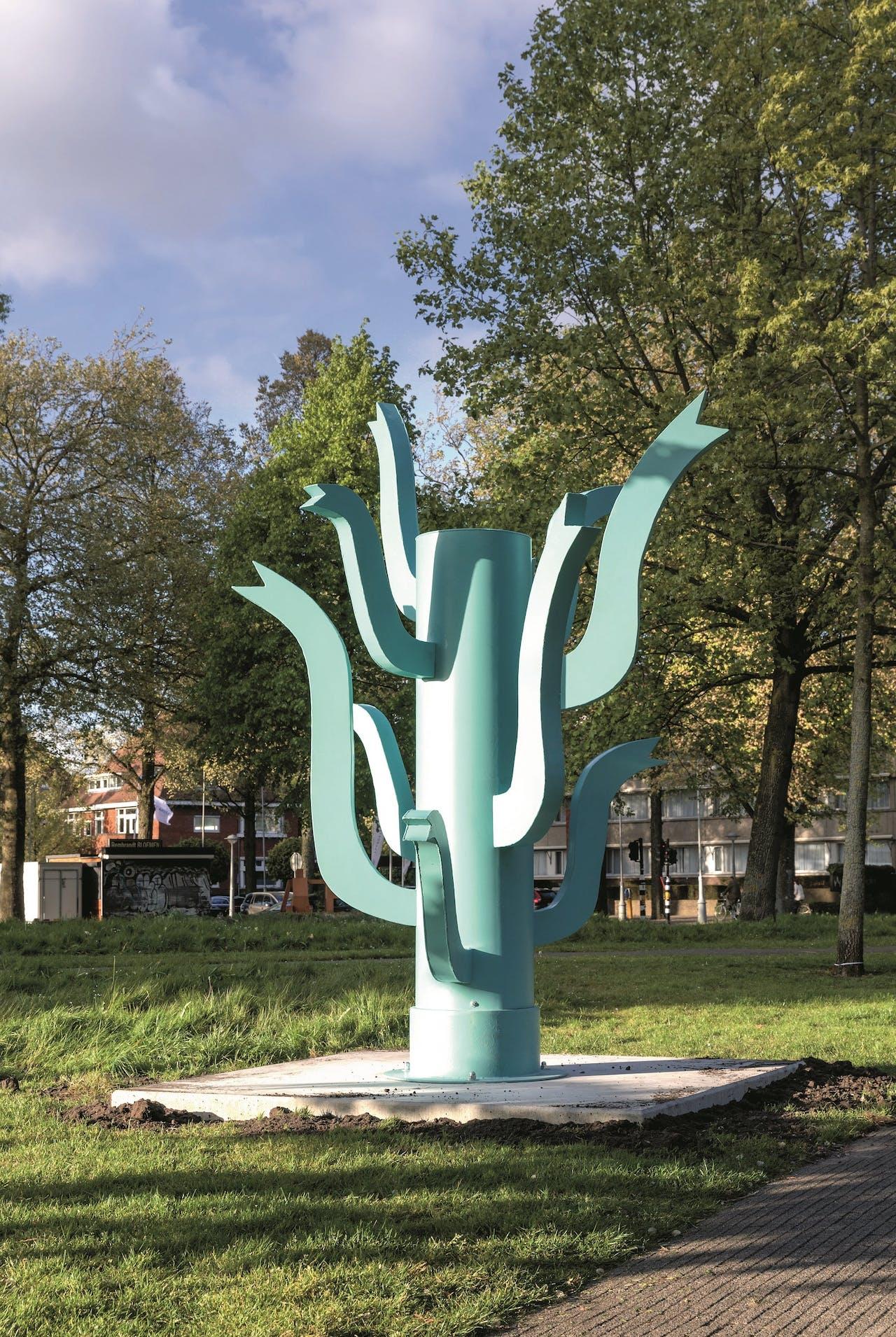 Sculptuur van Klaas Gubbels op ArtZuid.