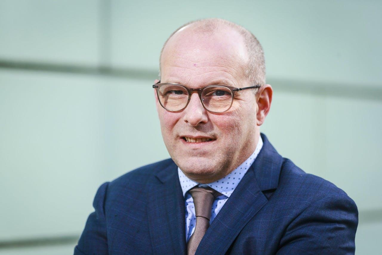 KBvG-voorzitter Wilbert van de Donk.