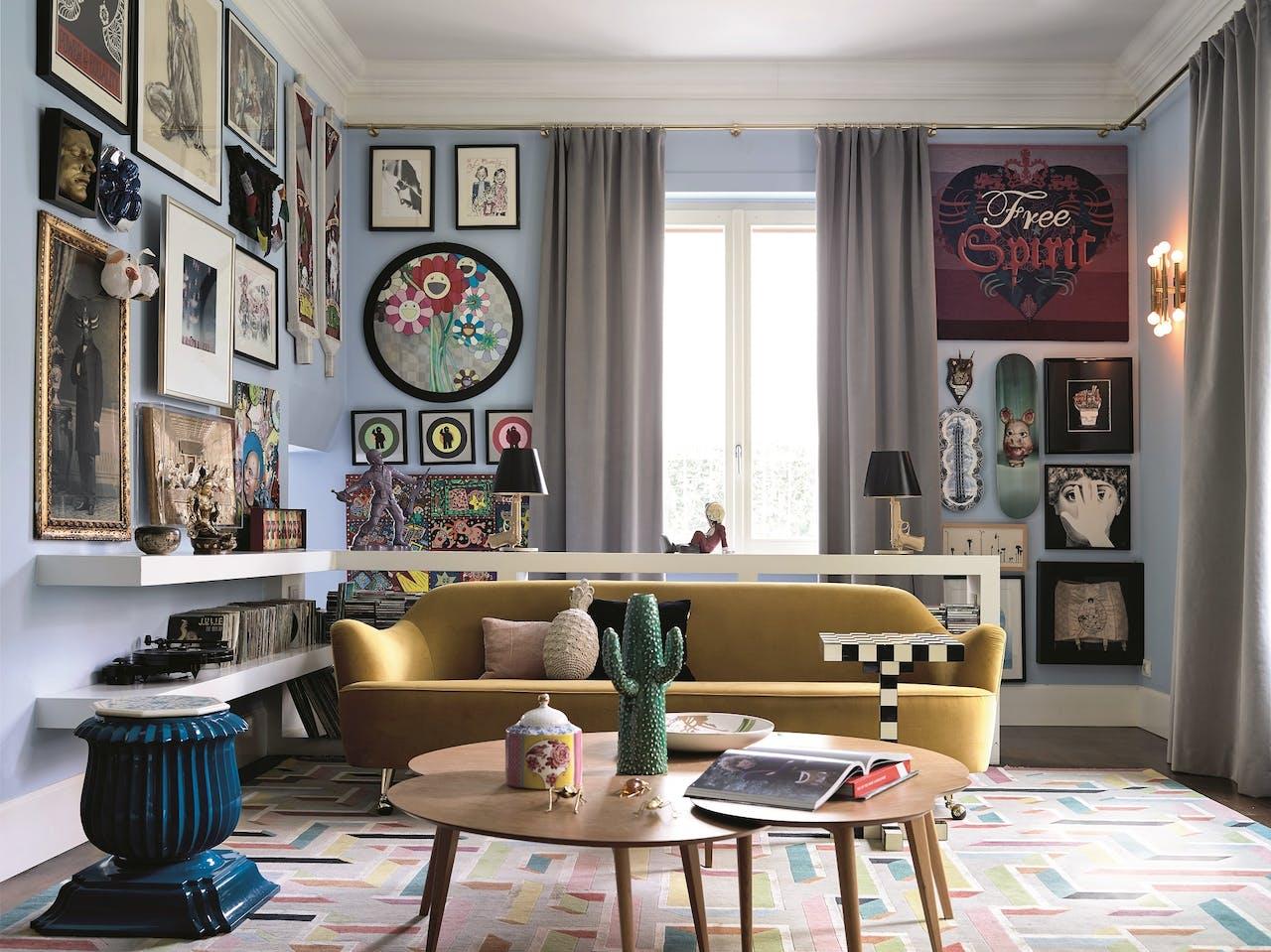 Wonen als in een hotel het financieele dagblad - Sofa stijl voormalige ...
