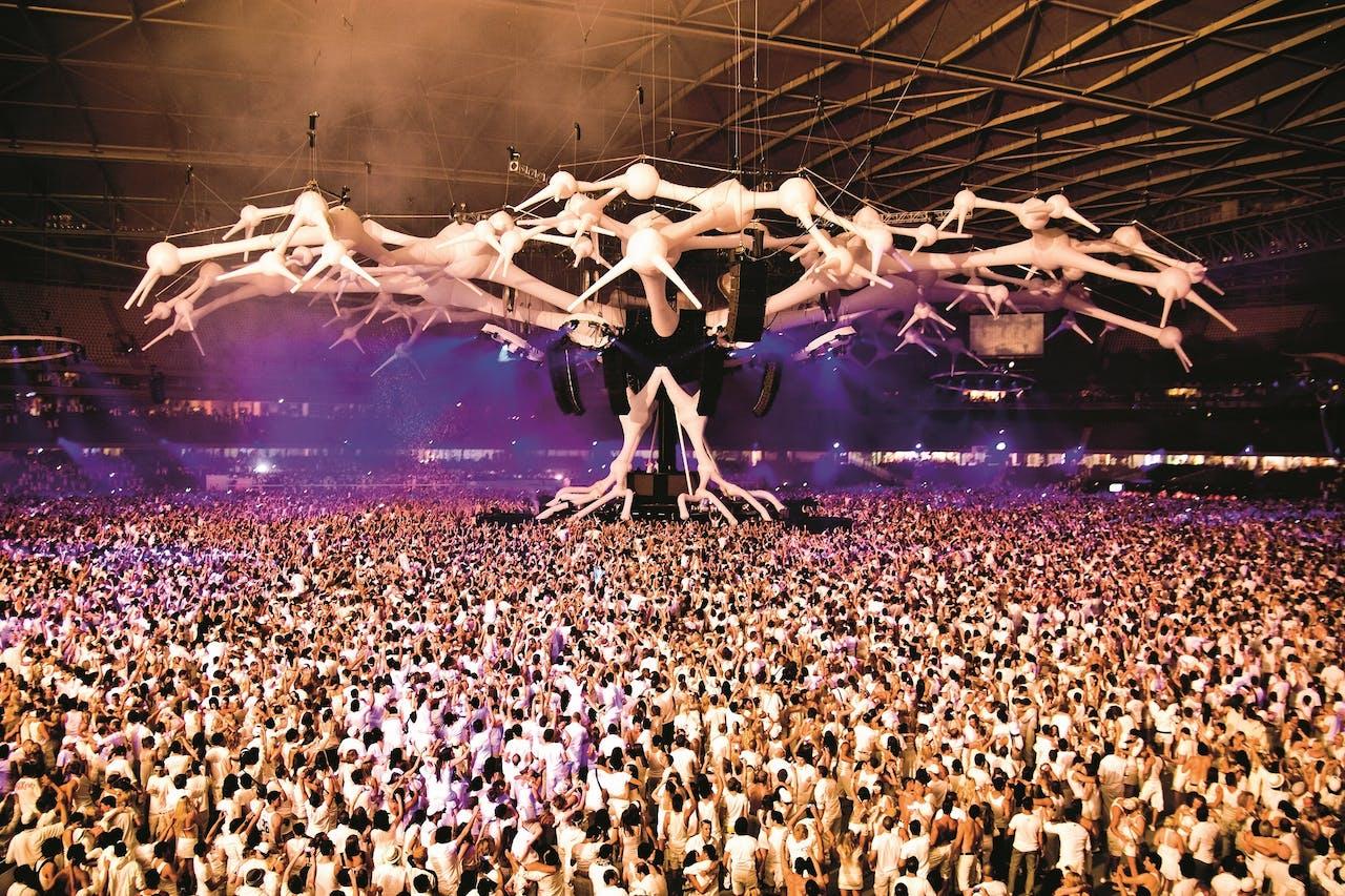 Sensation in het Etihad Stadium in Melbourne, Australië, in 2008.