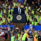 Bouwvakkers Shell-fabriek gevraagd Trump vriendelijk te bejegenen