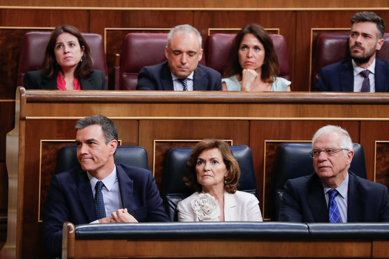 Sánchez krijgt geen steun voor nieuwe linkse regering in Spanje