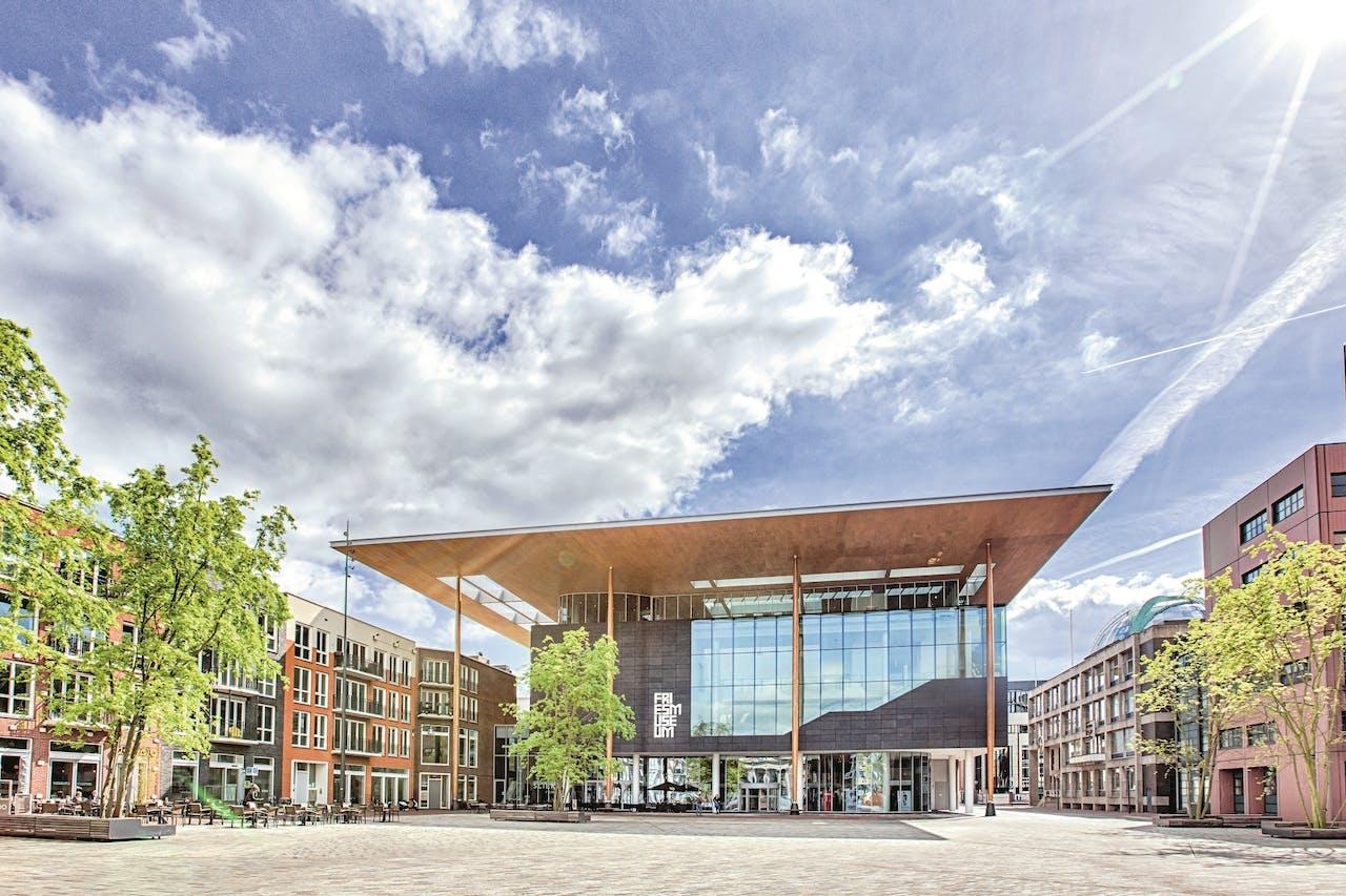 Het Fries Museum, sinds 2013 gevestigd in een nieuw gebouw.