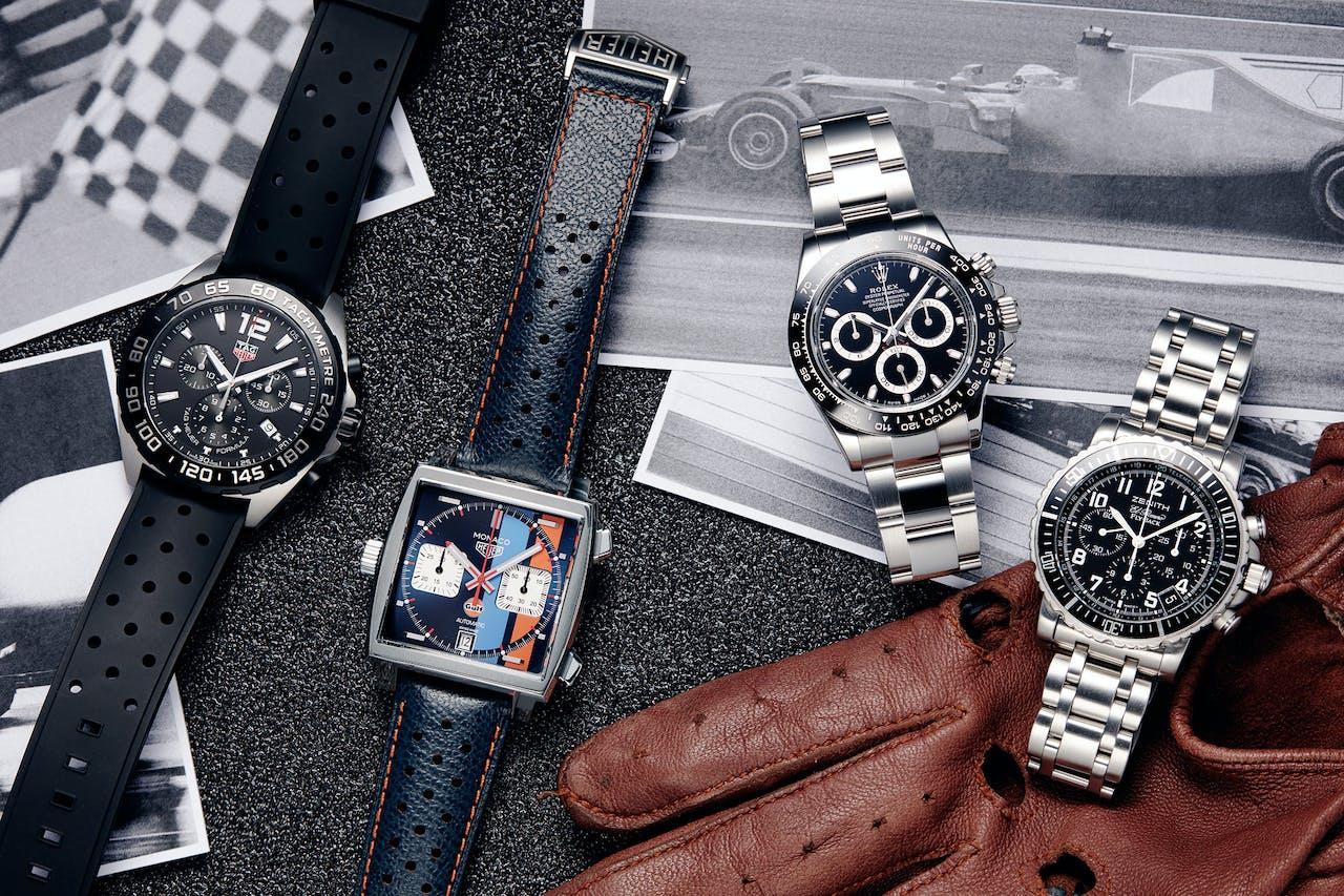 Sinds 2013 verkocht Chronext ruim 50.000 Rolexen, Breitlings, Omega's en andere dure uurwerken.