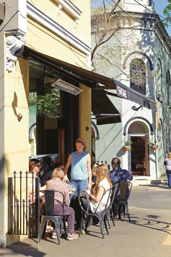 Op straat in Surry Hills, een wijk in Sydney.