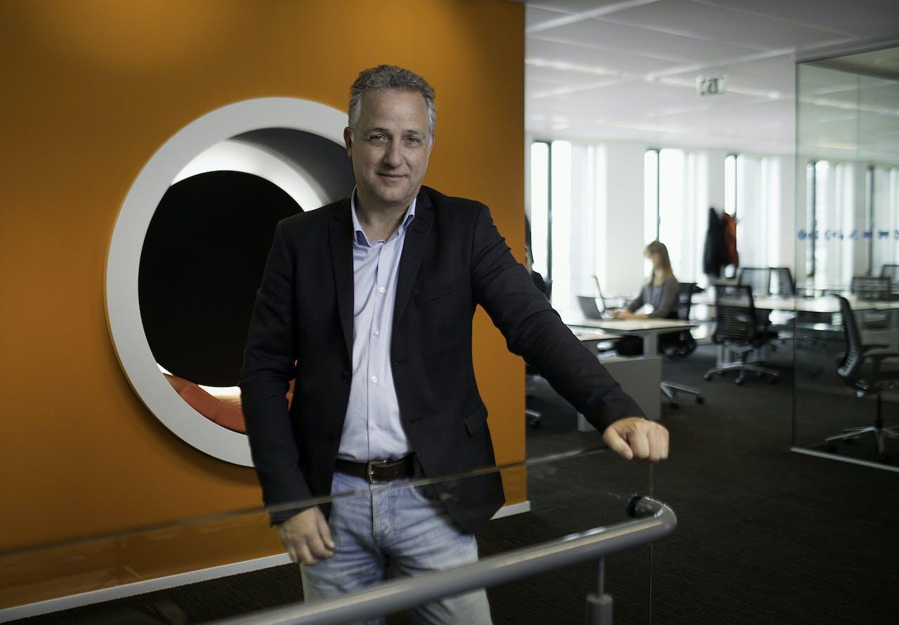 John van Vianen, bij VodafoneZiggo verantwoordelijk voor de zakelijke klanten.