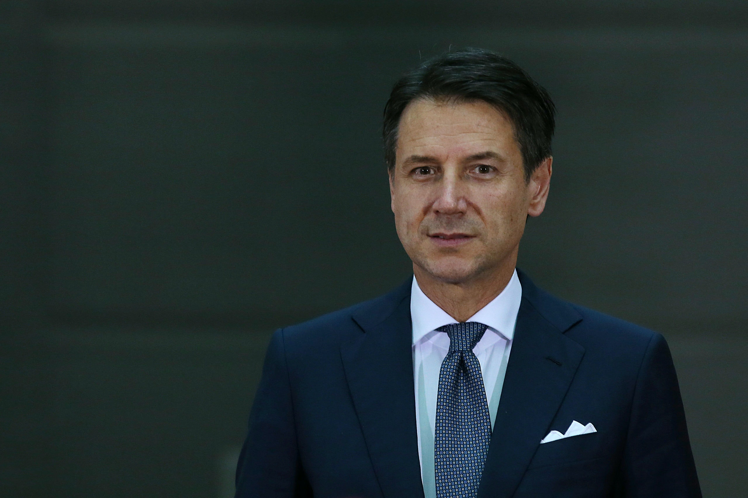 Italian Prime Minister Giuseppe Conte is seen during arrivals ahead of the G20 leaders summit in Buenos Aires, Argentina, November 29, 2018. REUTERS/Agustin Marcarian