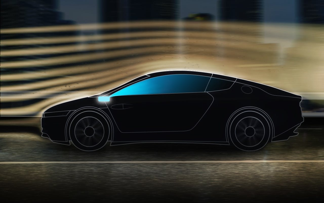 Prodrive Technologies ontwikkelt een fijnstofsensor die zowel binnen als buiten de auto fijnstof herkent.