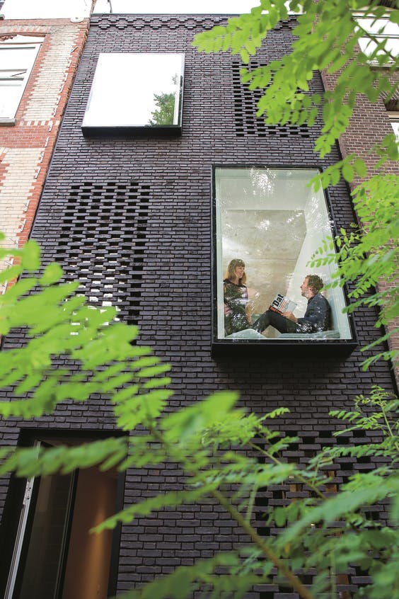 Duurzame nieuwbouw in Rotterdam.