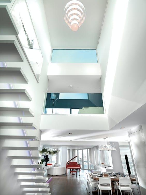 Appartement in Antwerpen met inrichting van Jan des Bouvrie.