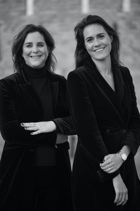 Janneke Niessen (links) en Eva de Mol. 'We kijken ook naar Zweden want het ecosysteem voor start-ups heeft zich daar de afgelopen vijf jaar enorm ontwikkeld.'