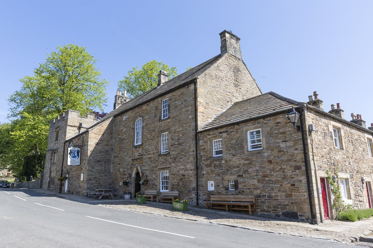 Het Lord Crewe Arms in Blanchland.
