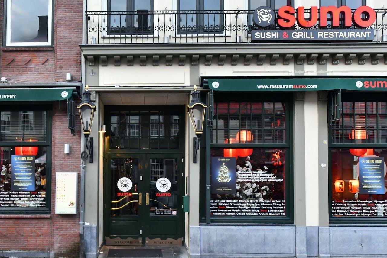 Het filiaal van Sumo in Breda dat als gevolg van miljoenenfraude dicht moest.