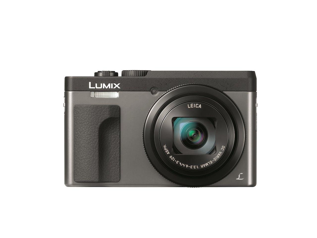De Panasonic Lumix TZ90 met 20,3 megapixel-sensor en Leica-objectief kost €430, panasonic.nl