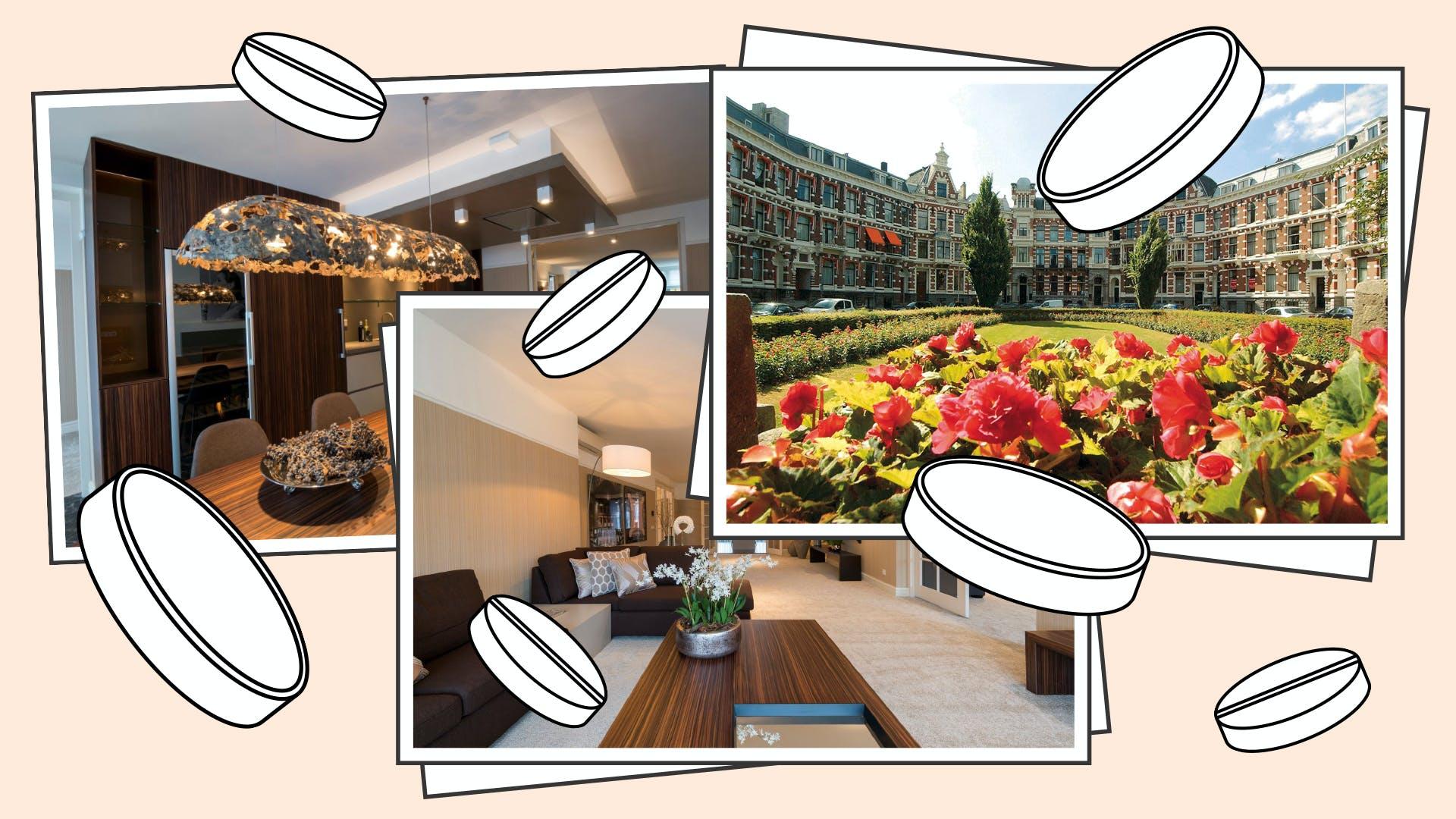 De huur van het luxeappartement aan het Koningin Emmaplein in Rotterdam werd betaald door ZSV.