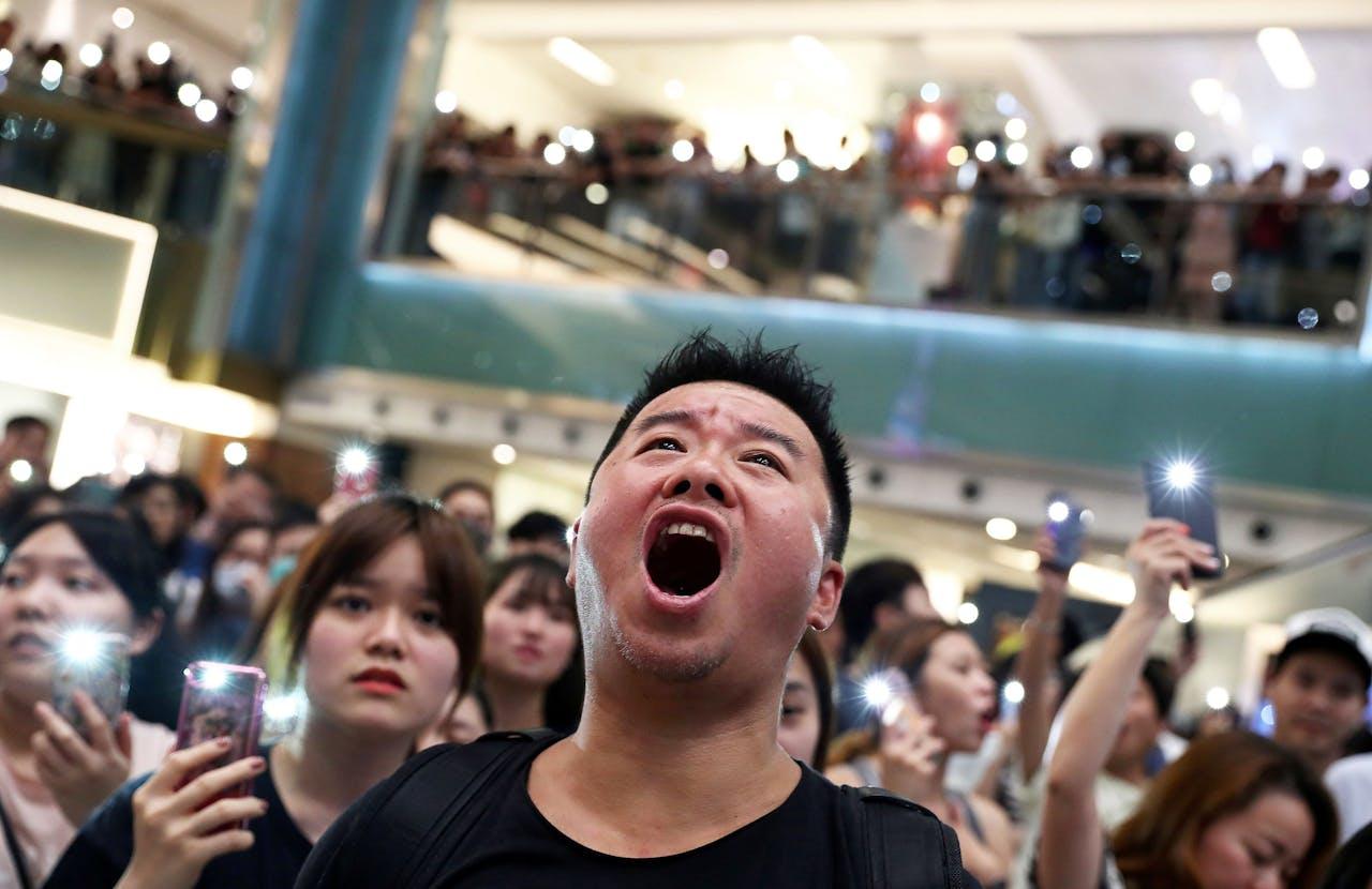 Hongkong gaat boegeroep tijdens Chinees volkslied strafbaar maken
