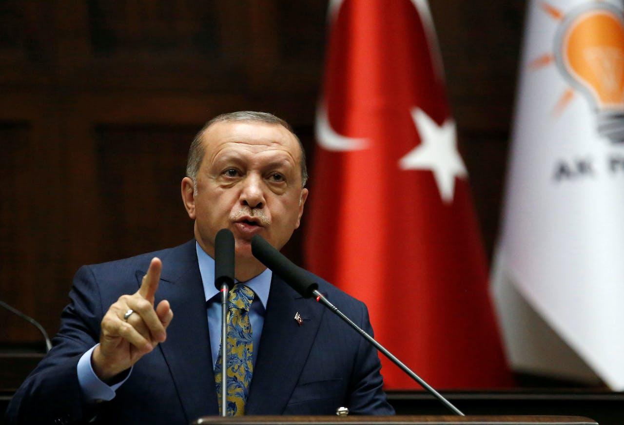 Khashoggi is met voorbedachten rade vermoord, sprak Erdogan dinsdag de verklaring van Saoedi-Arabië tegen.