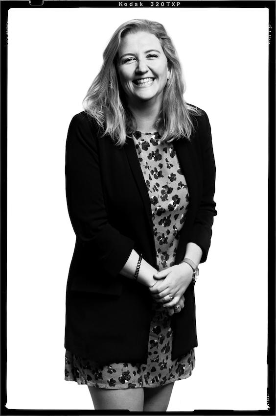 Carlotta Westra van Holthe, global HR manager: 'Je lijkt te denken dat het hier een perfect georganiseerde machine is, maar dat is het niet.'