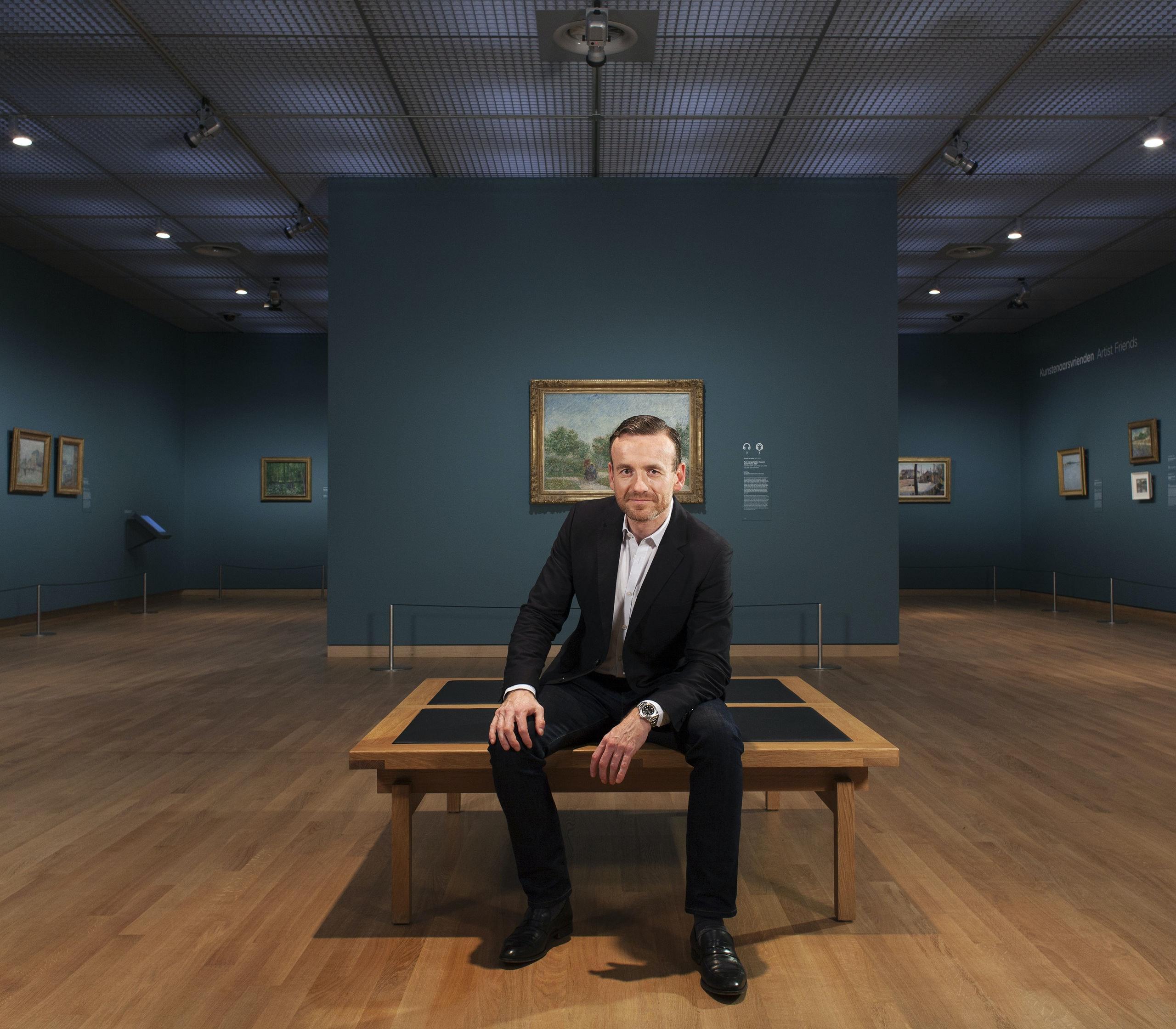 Axel Rüger directuer van Gogh Museum Amsterdam