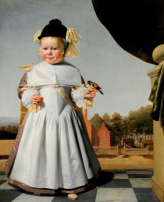 'Portret van een tweejarige jongen', 1665