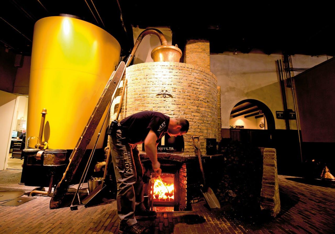 Ketel 1 is nog altijd in gebruik en wordt nog steeds op kolen gestookt. (Foto: Bart Hoogveld)