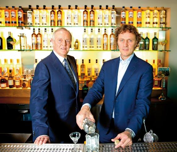 Carel Nolet sr. en Bob Nolet. (Foto: Bart Hoogveld)