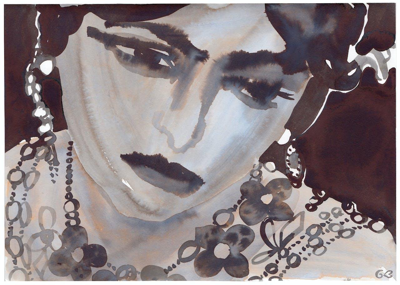 Beeltenis van Mata Hari.
